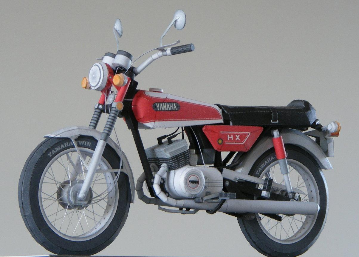 Yamaha hx90 paper model front left left side jeuxipadfo Choice Image